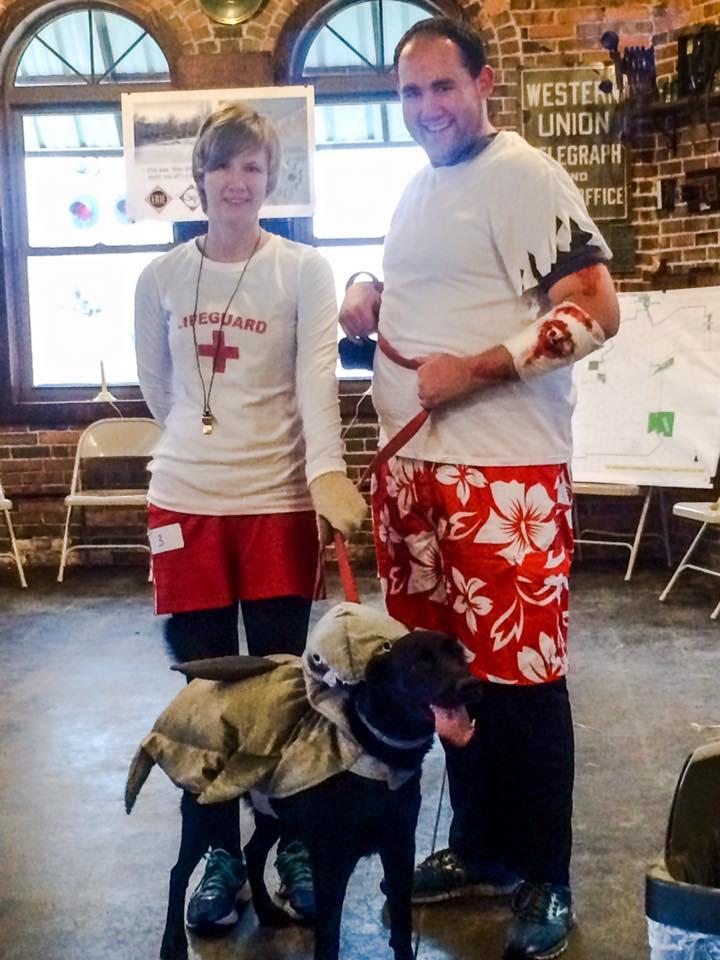 scariest costume. Scariest Costume u2013 Lifeguard Victim Shark  sc 1 st  Huntington Area Recreational Trails Association & Bow Wow Walk Costume Contest Winners Announced | HARTA