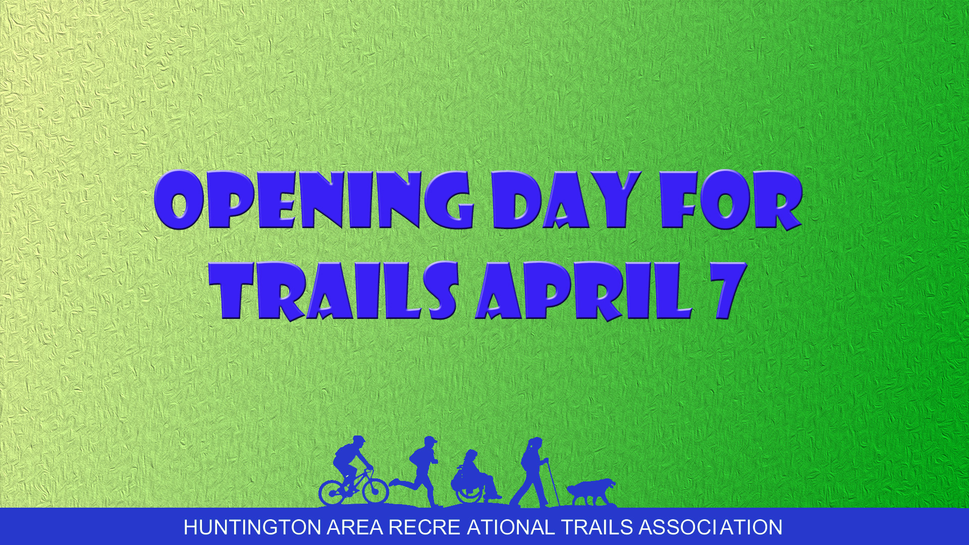 National Opening Day for Trails and Walk with a Doc Kick off